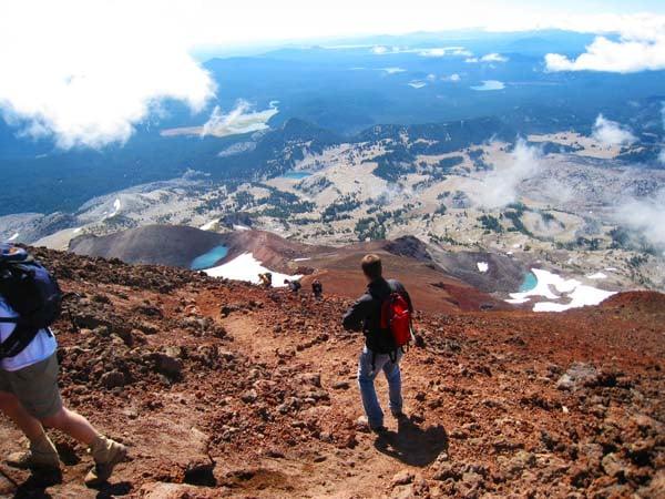 Climb a mountain - check!