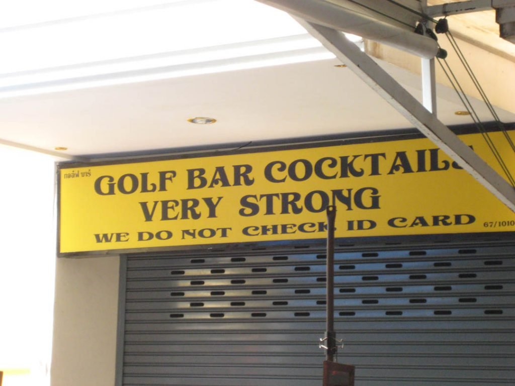 And just for good measure, one of the more entertaining signs I have seen...