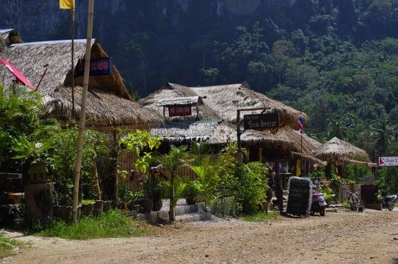 bamboo bars, ao nang, krabi, thailand
