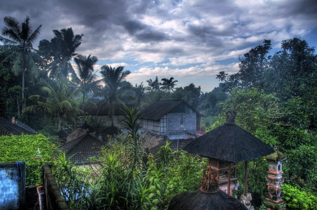 View of Ubud from the Teba Guest house