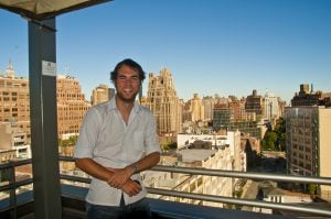 Sean Ogle at Plunge atop the Hotel Gansevoort in NYC