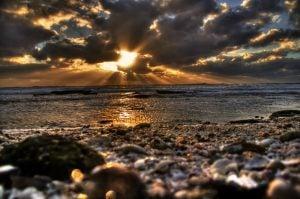 HDR Photo of a beach on Siesta Key in Sarasota, Florida