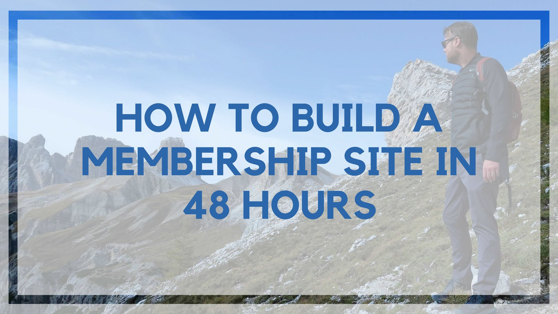 How to Create a Membership Site in 48 Hours (Without Technical Expertise)