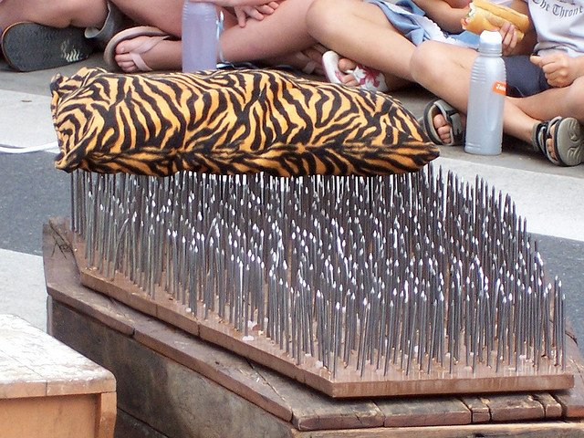 bed of nails