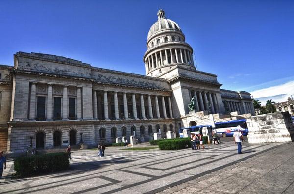 The capital building in Havana, Cuba