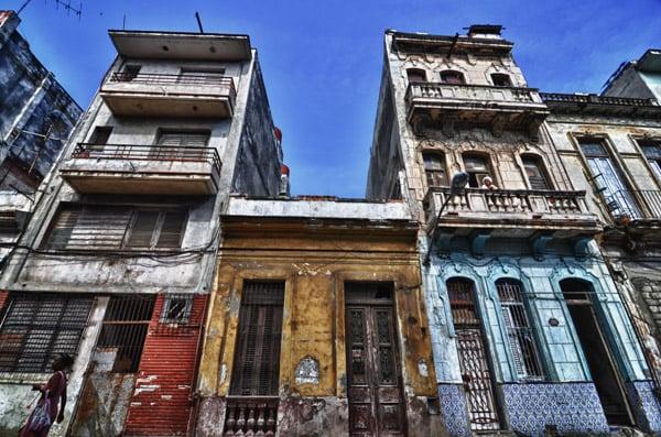 Old Buildings in Havana Vieja