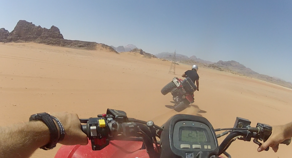 ATVing in Wadi Rum