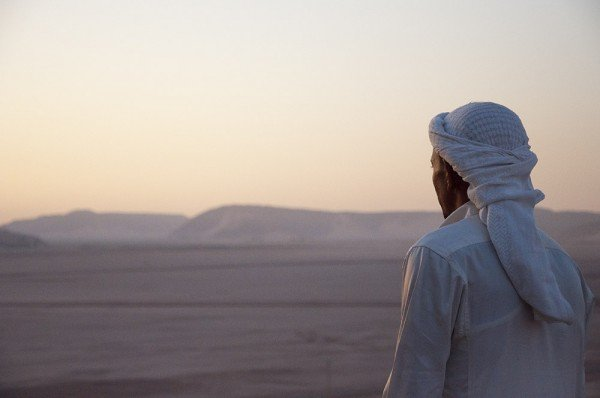 Bedouin Man at Sunrise