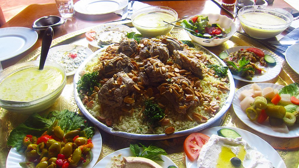 Mansef, the national dish of Jordan