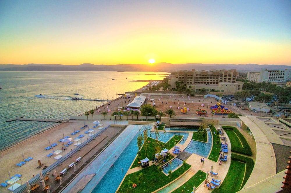 Kempinsky Hotel in Aqaba, Jordan
