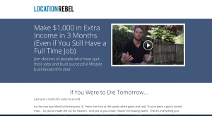 Make a Sales Squeeze or Landing Page