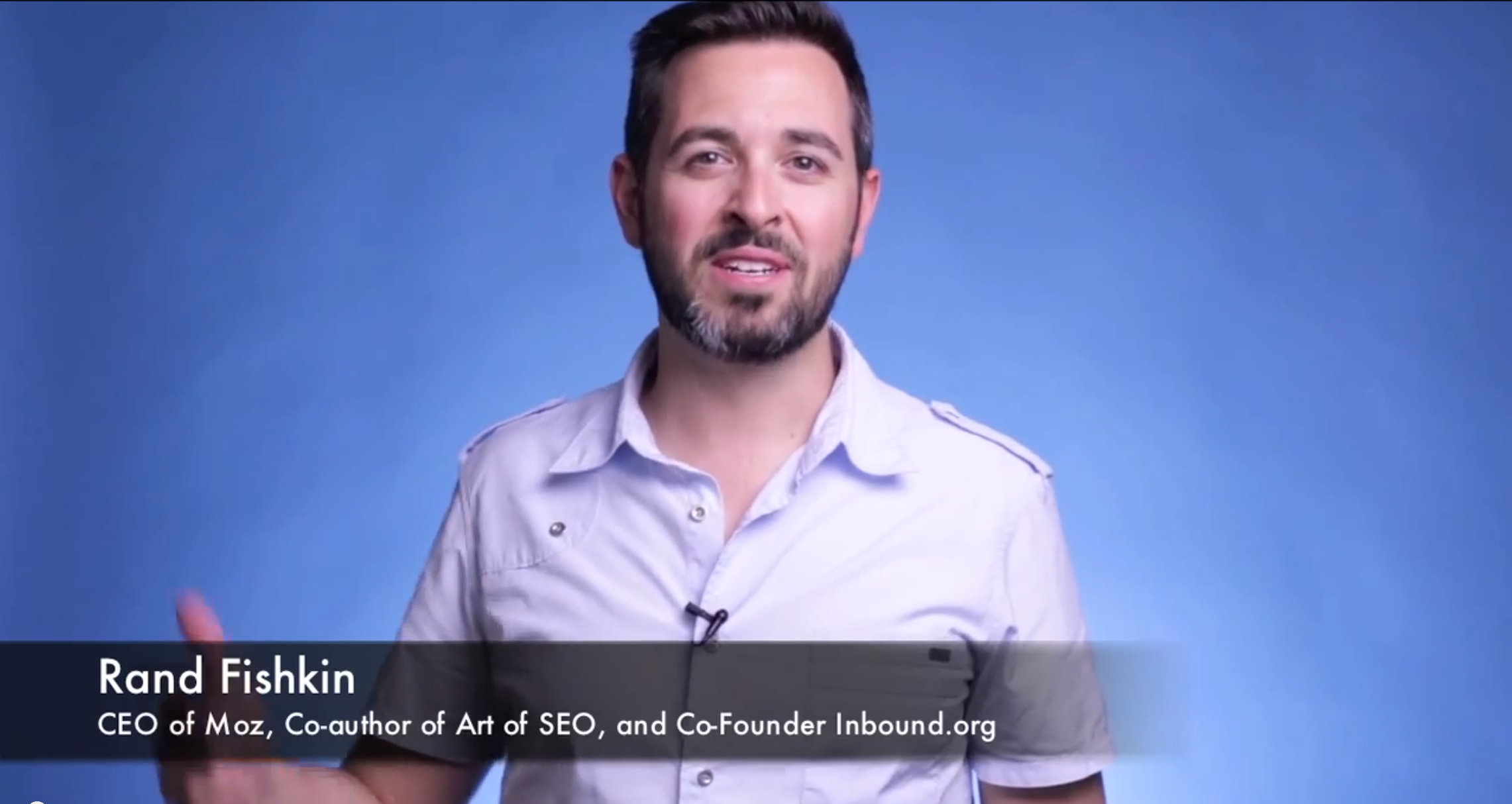 How I Got Rand Fishkin and Michael Hyatt to Shoot a Video on My Behalf (Having Never Talked to Them Before)
