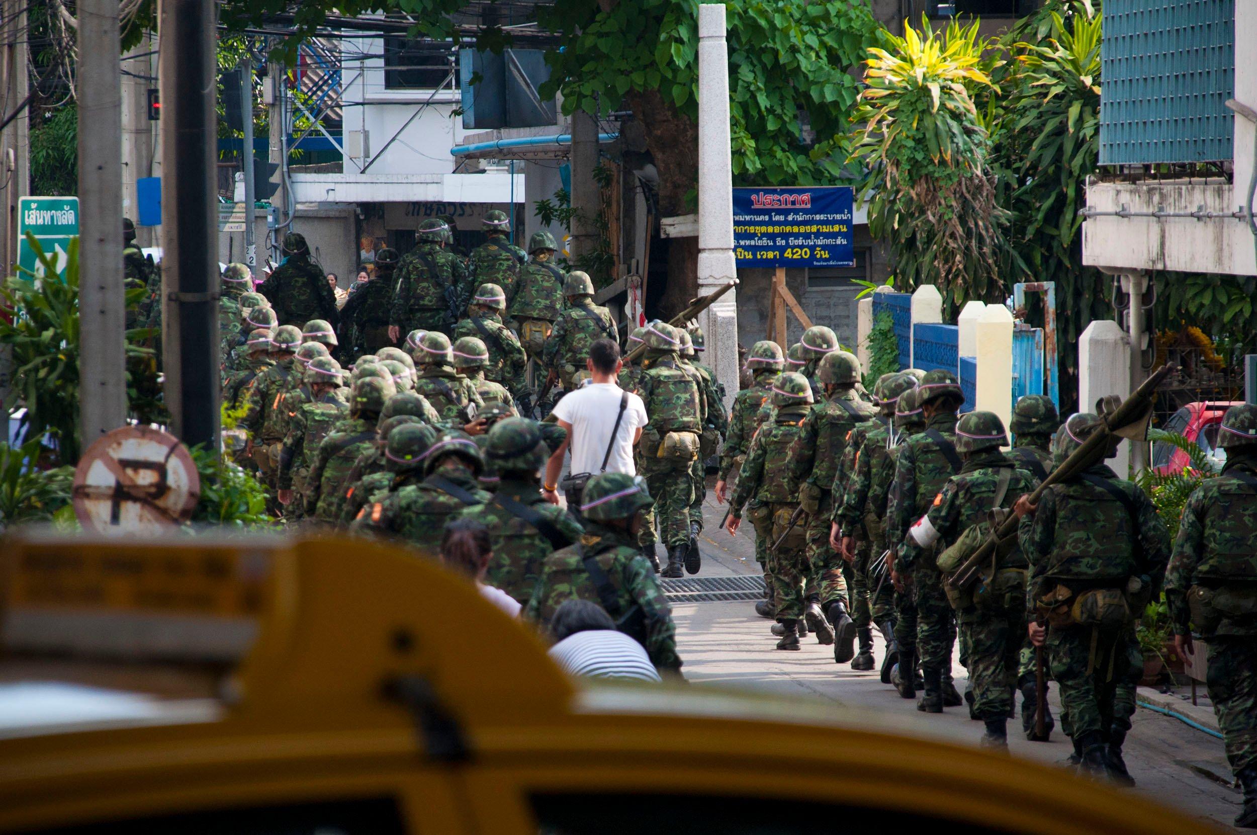 The Day I Almost Got Shot with a Machine Gun in Thailand