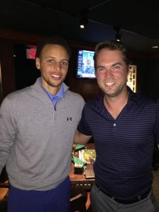 Steph Curry at Pebble Beach