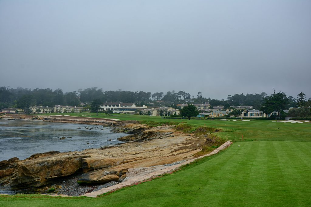 Pebble Beach Hole 18