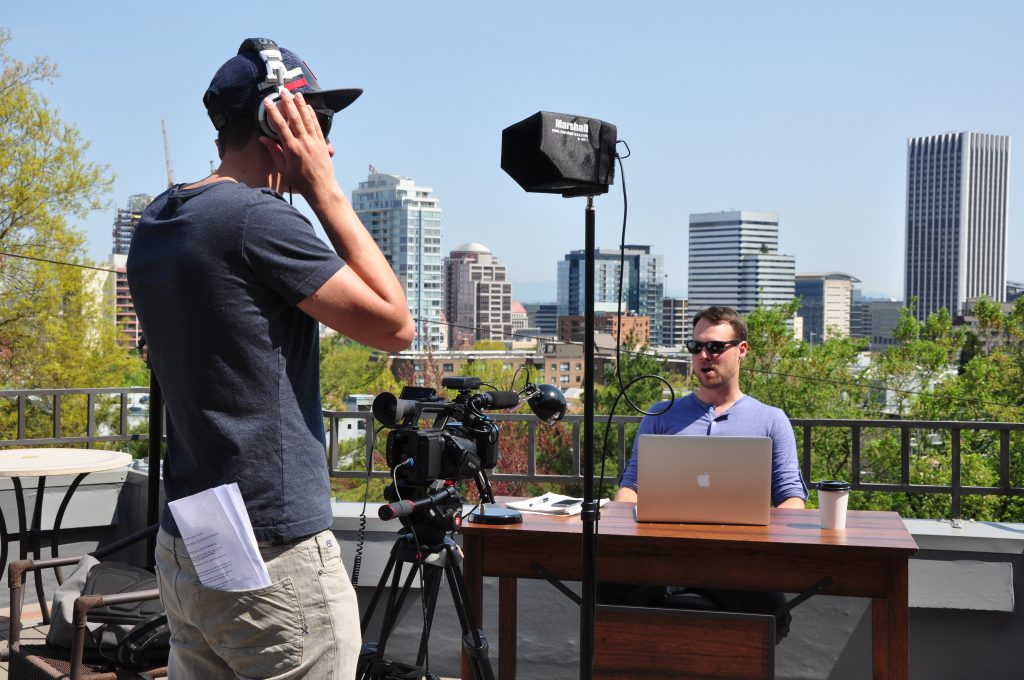 "10 Fun Facts About our Shoot for ""The Desk"""