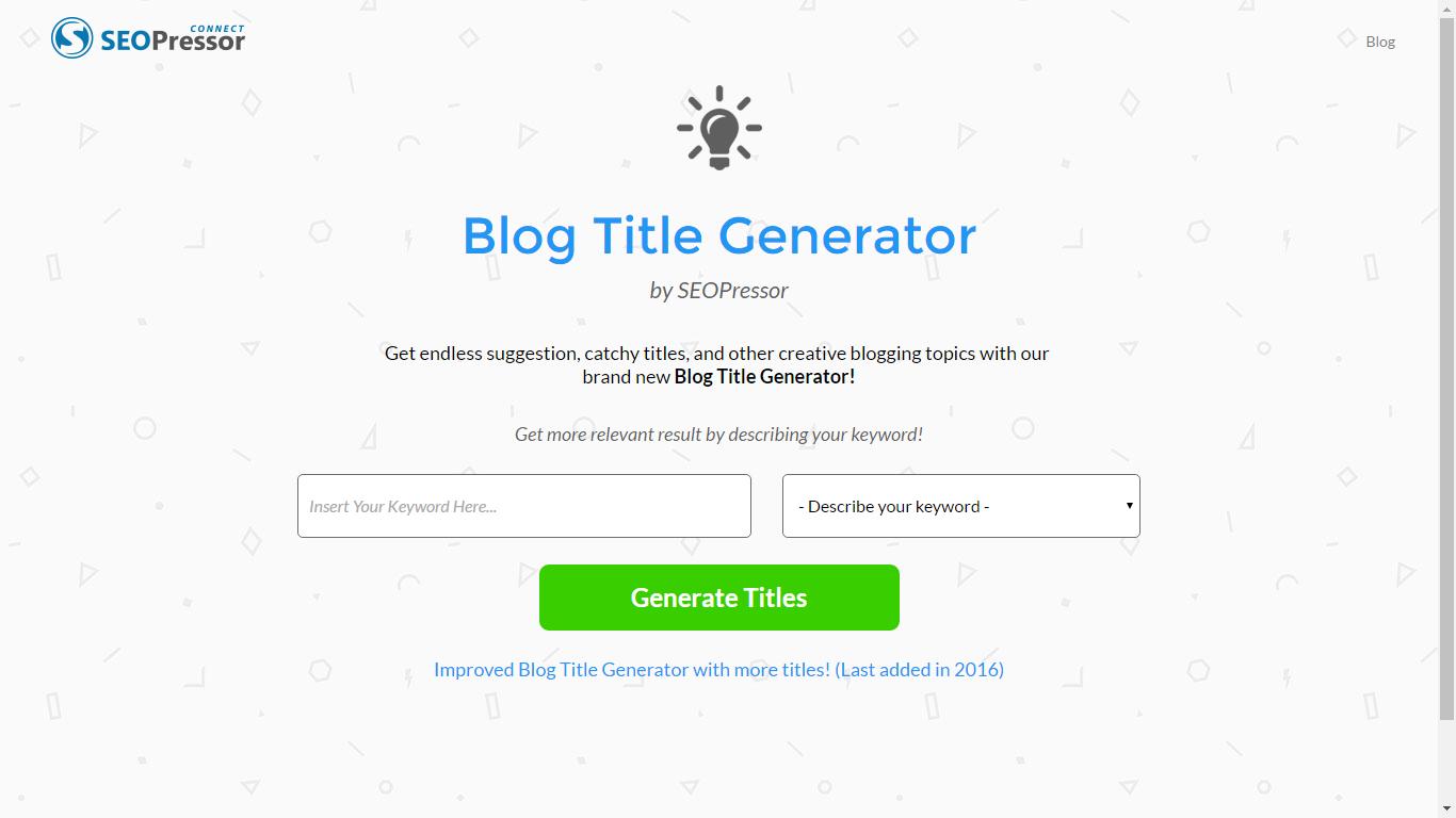 SEOPressor-Blog-Title-Generator-0
