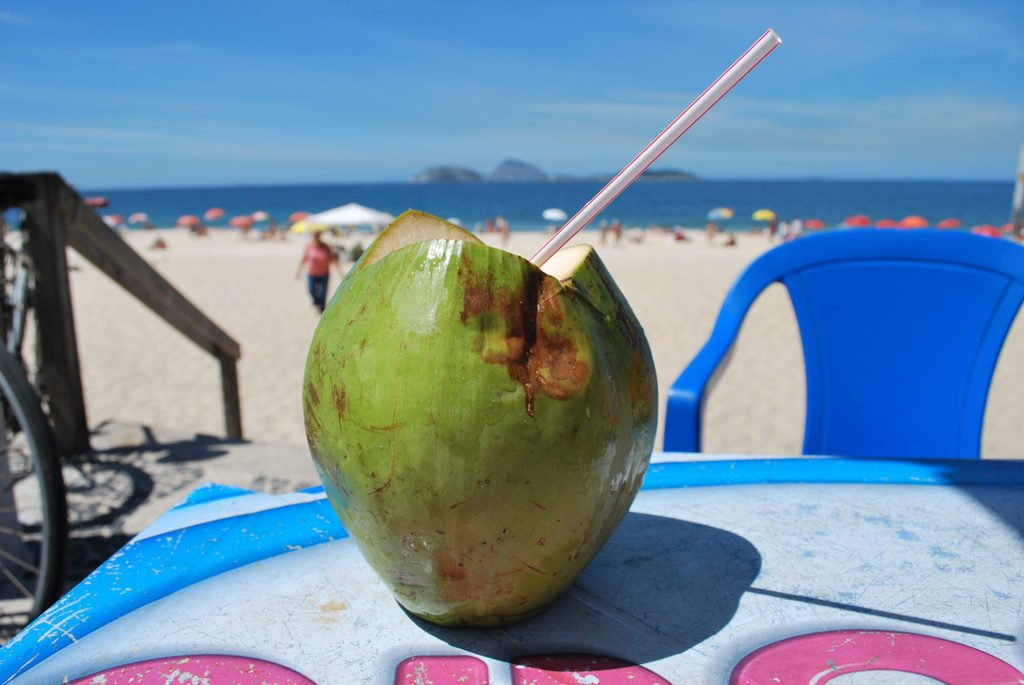 This is the coconut you can be drinking out of...if you come up with enough blog post ideas.