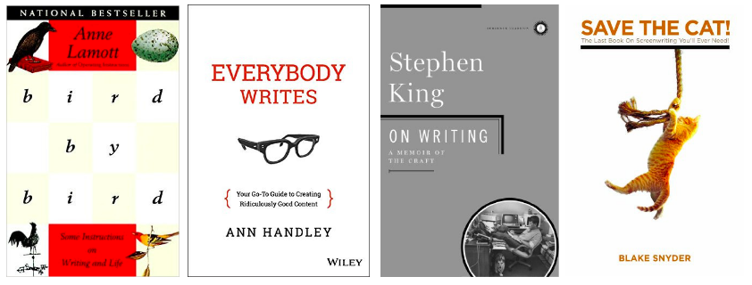 books on writing