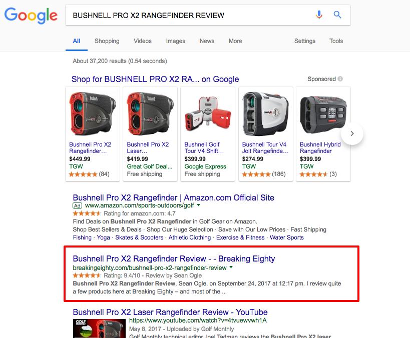 BUSHNELL PRO X2 RANGEFINDER REVIEW Google Search