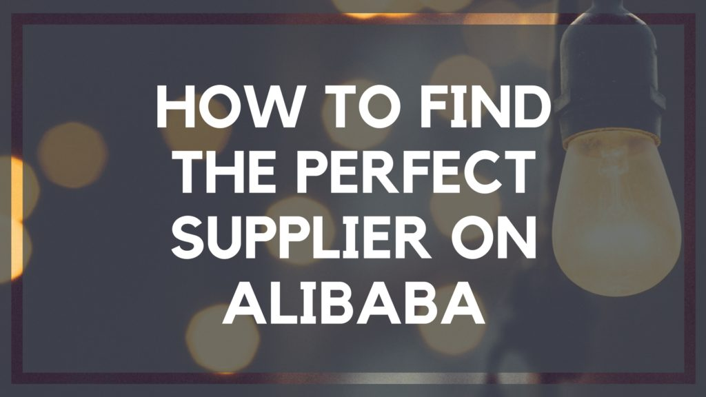 How to Find High Quality Suppliers on Alibaba