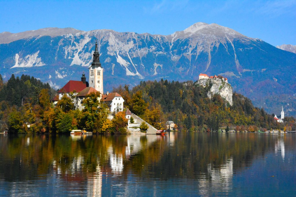 Lake Bled in Northern Slovenia