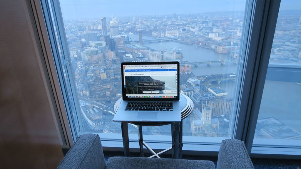 How to get anything you want in life: 5 star hotels like the Shangri-La at the Shard in London.