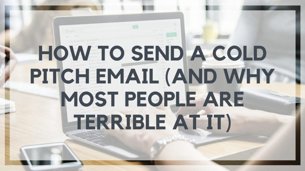 how to send a cold call email