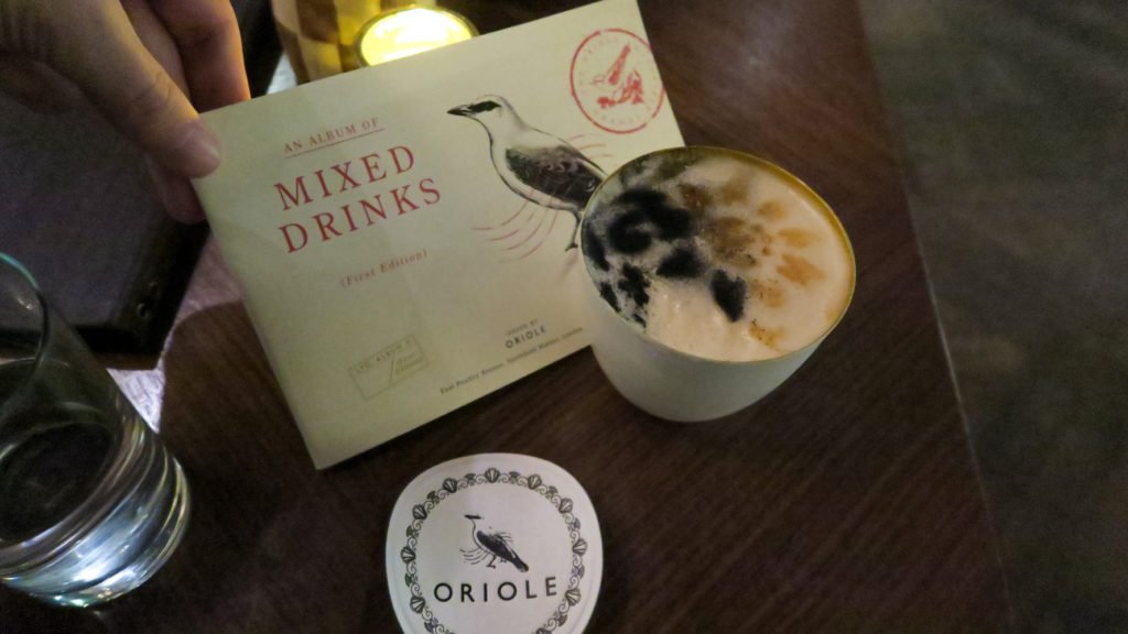 Oriole Bar in London