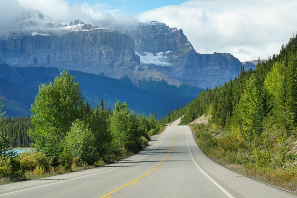 Highway 93 Banff to Jasper