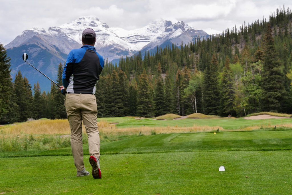 Sean Ogle at Banff Springs
