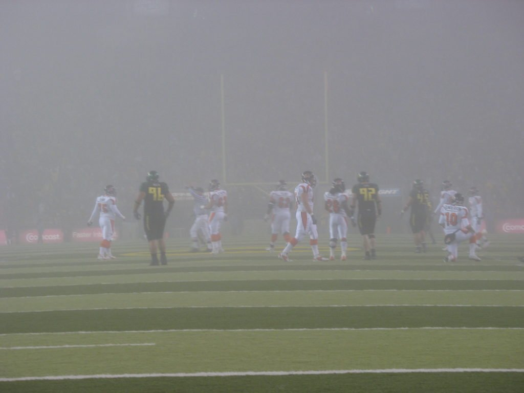 Foggy Civil War Football 2005