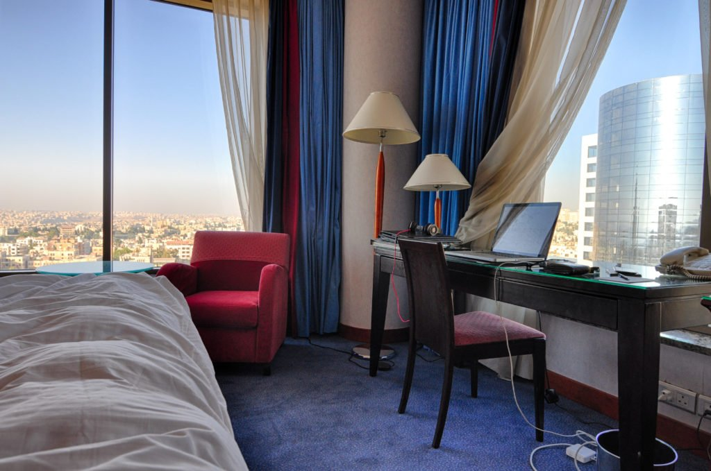 The Kempinski Hotel in Amman, Jordan
