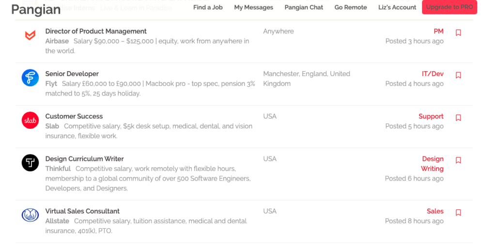 freelance writing job boards pangian