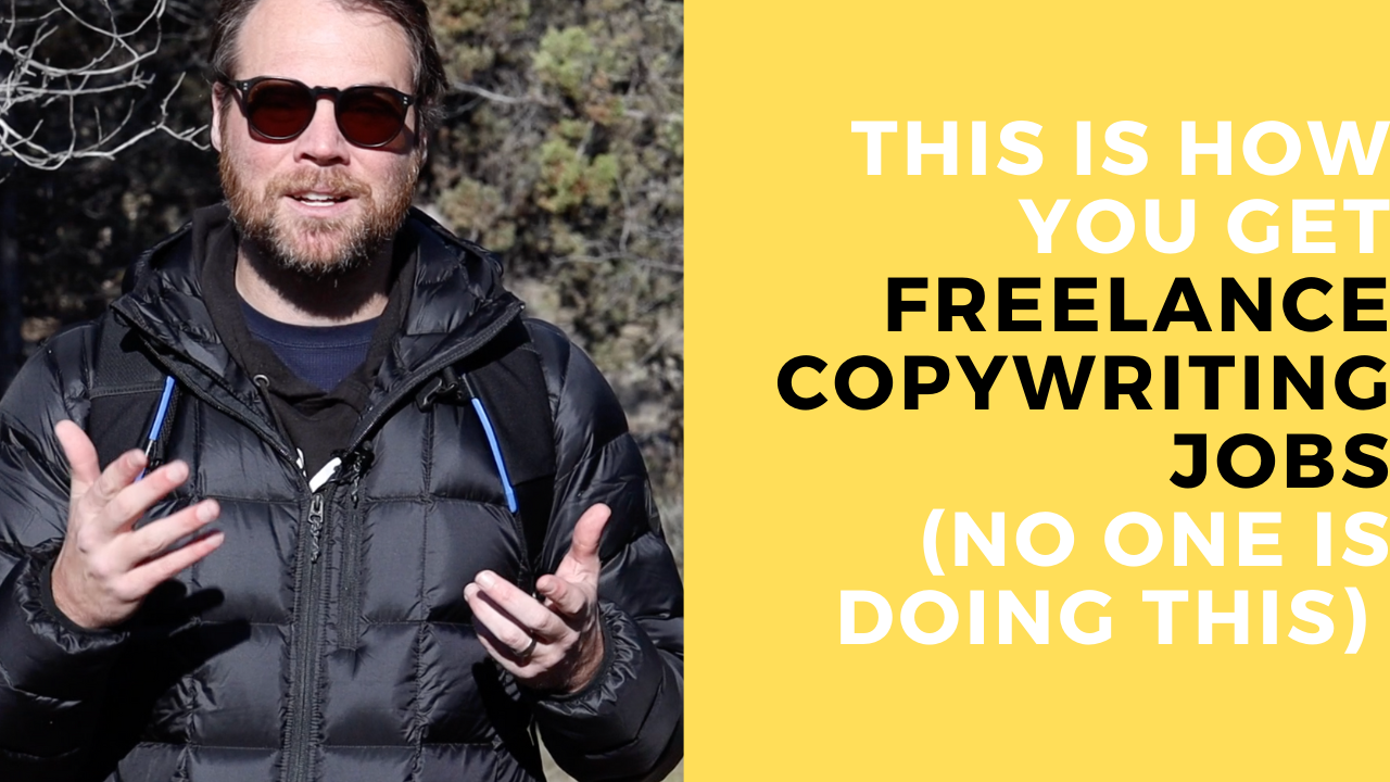 A Unique Way to Get Freelance Copywriting Jobs (NO ONE Does This)