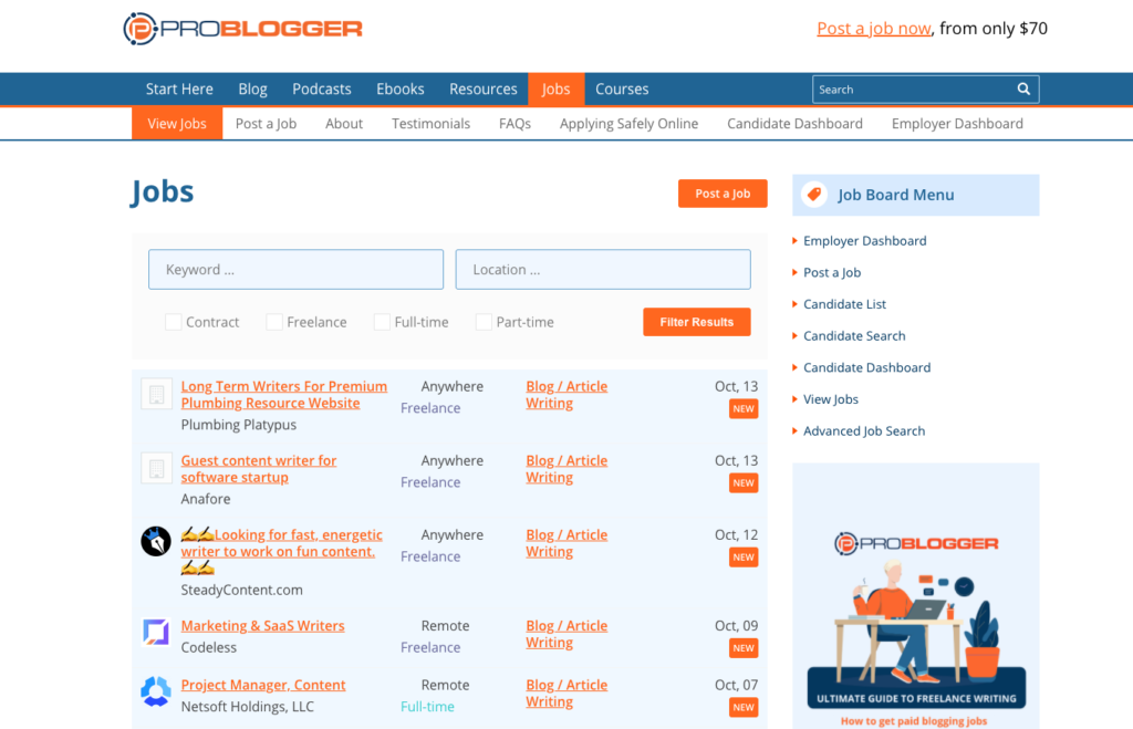 Jobs-ProBlogger-Jobs